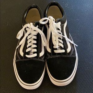 Black vans size 7 1/2